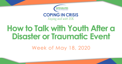 May 18 Coping in Crisis