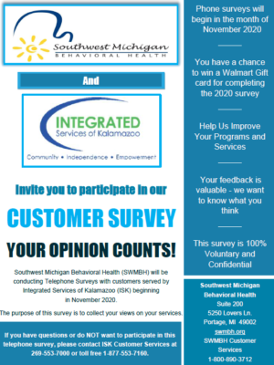 SWMBH Customer Survey Poster_ISK_2020