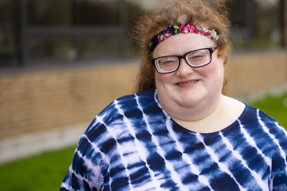 Photo of Sarah, an individual that shared her success story with ISK.
