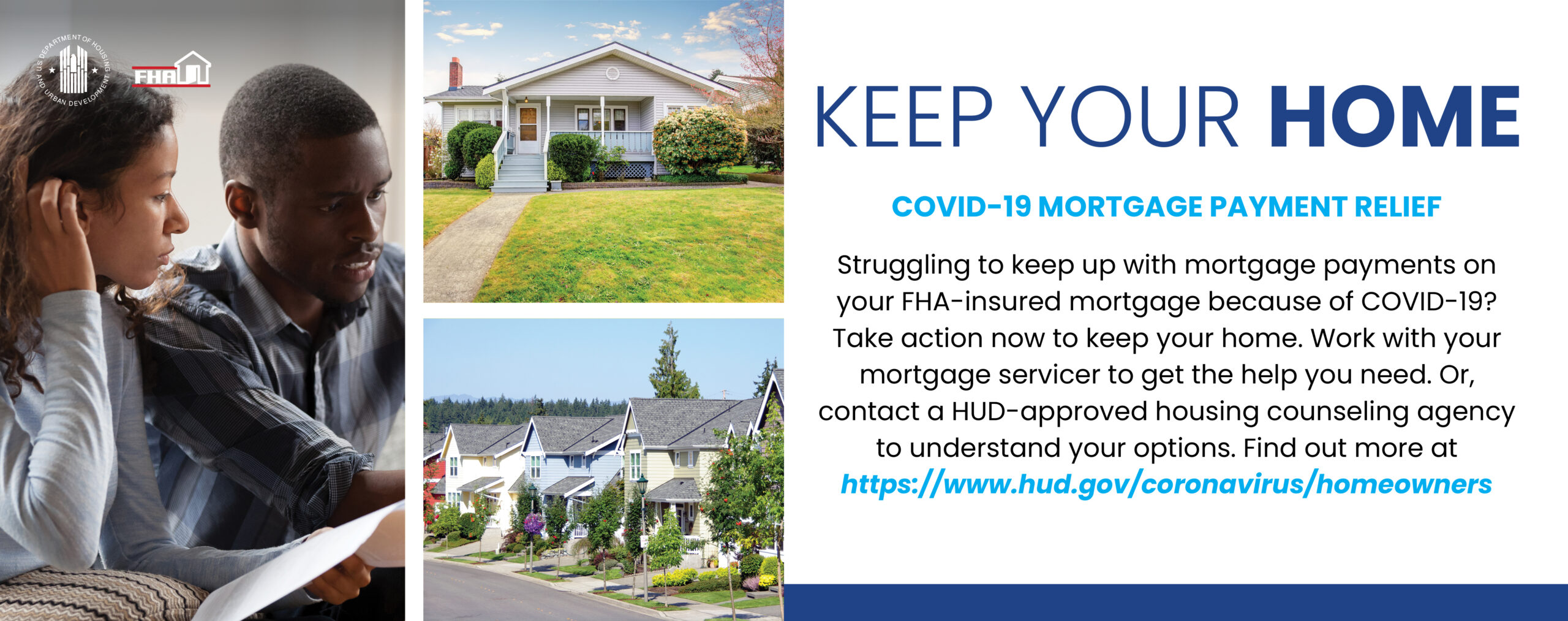 Keep your home, covid-19 mortgage payment relief image