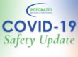 An image that says covid-19 safety update